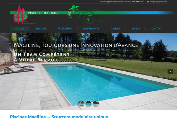 Pury piscine un site pury paysagiste sa goldenstone for Piscine internet